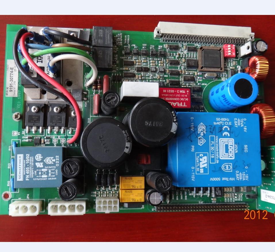 电机驱动控制器电路板